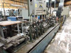 """Turek & Heller Tube Mill Model WU2010, SN 1094, 2"""" Diameter Shafts, with Ajax Tocco Annelaer Model"""