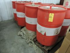 (4) Barrels of Star-Glo Premium Grade Floor Finish