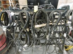 Rack with Various Fan Belts