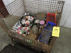 Wire Basket and Contents