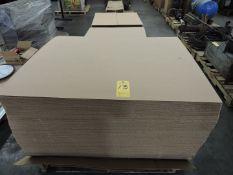 (4) Pallets of Various Cardboard