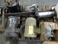 Motors and Pneumatic Cylinder
