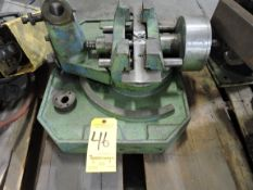 Pipe Stand with Swivel Head for Cutoff Saw