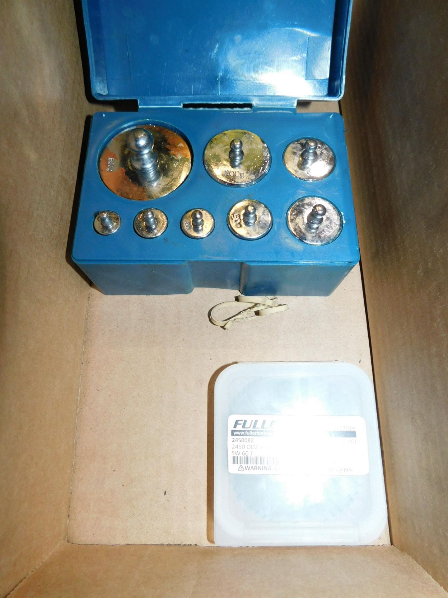 Slitting Saw and Scale Weight Set