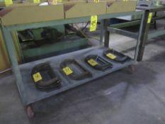 """2-Tier Shop Cart, 30"""" X 60"""" X 34"""" High"""