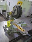 Dewalt DWS780 Compound Sliding Mitre Saw with Extra New Blades