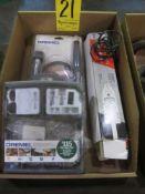 Dremel Flexible Shaft, Dremel Grinding Tools, and Mono Kote Heat Sealing Tool