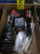 Roto Zip RZ1, Bauer Cordless Drill, and Hand Saw