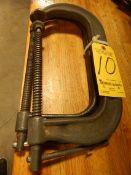 "Wilton 10"" Heavy Duty C-Clamps, 1 pair"