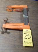 "Jorgensen Adjustable Clamps, 14"", 1 pair"