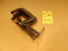 """(3) 4"""" C-Clamps"""