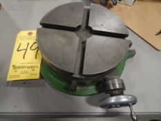 """8"""" T-Slotted Rotary Table"""