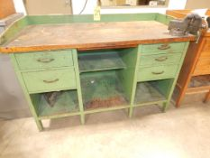 """Toolmaker's Bench with Torco Wilton 4"""" Vise"""