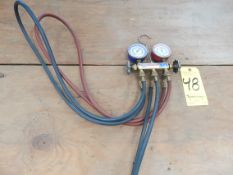 Yellow jacket Refrigerant Test and Recharge Manifold