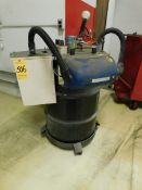 MET Hepa Filter Vac System with Bulb Eater Flourescent Lamp Crushing System
