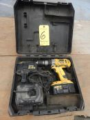 Dewalt 18 Volt Drill with Charger and Battery