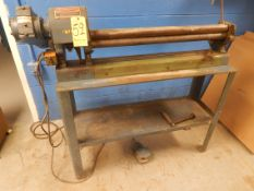 "Di Acro Power Initial Pinch Roll, Model 36, s/n 46507732, 36"" X 20 Gauge, 2"" Rolls"