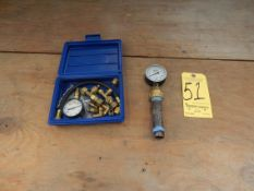 Yellow Jacket 78020 Fuel Oil Test Kit and Trerice Pressure Gage