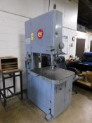 """Grob Model NS-24 Vertical Band Saw, 24"""", s/n 3198, with Blade Welder"""
