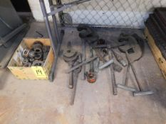Ridgid Pipe Wrenches, Dies, Handles, and Reamers