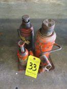 (3) Bottle Jacks
