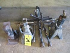 Tire Lug Wrenches and Jack Stands
