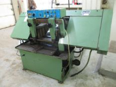 """Jet Model HBS-12A Automatic Horizontal Band Saw, s/n 12743, 1"""" Blade, 12"""" Round Capacity,"""