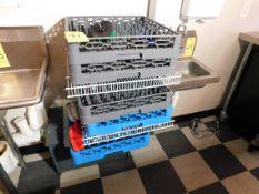 (5) Plastic Dish Washer Trays