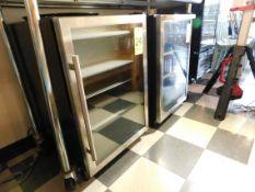 Criterion Under Bar Glass Door Refrigerator, 4.6 Cubic Feet