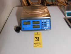 AVA Weigh 40 lb. Commercial Scale, Model 334PCS40