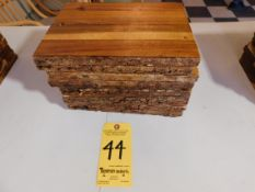 (10) Wooden Cheese Boards, Small