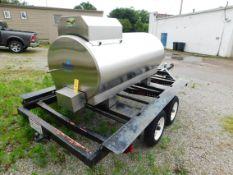 2018 Milkplan TE750-1, 210-Gallon/ 750 Liters MP Transport Tank, s/n 00003429, with Custom Dual Axle