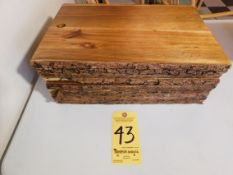 (9) Wooden Cheese Boards, Large