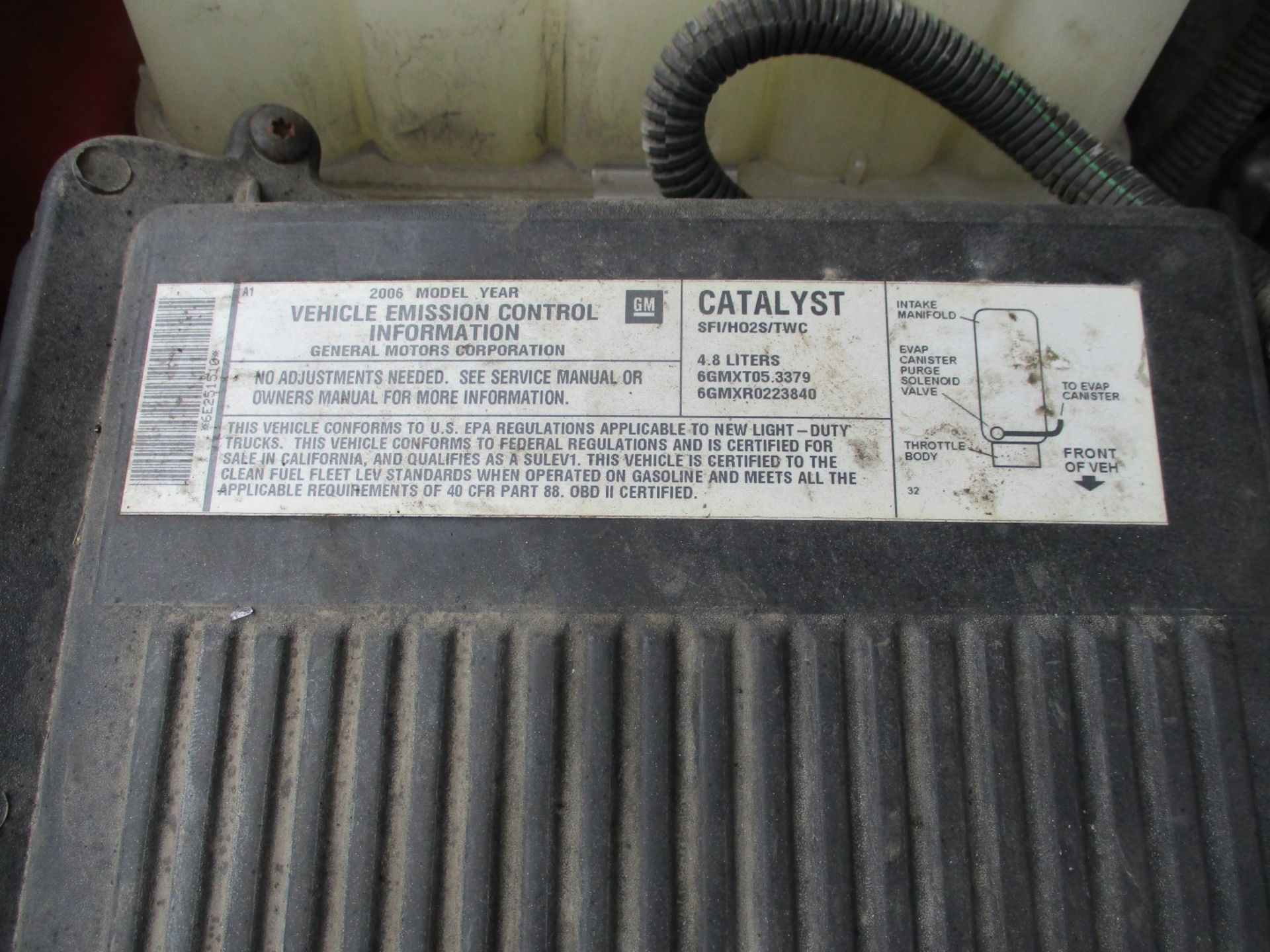 2006 Chevrolet Silverado 1500 LT Pickup, VIN 1GCEC14V96E251510, Regular Cab, Automatic, AC, 8' - Image 20 of 21