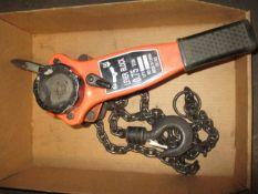 3/4 Ton Ratchet Chain Hoist