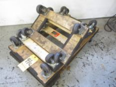 (5) 4-Wheel Dollys