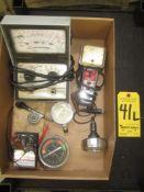 Peerless 465 Electronic Ingition Anaylzer, Dwell-Tech Tester, Tachometer, and Multimeter