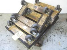 (4) 4-Wheel Dollys