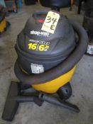 Shop Vac, 6.25 HP, 16 Gallon Vacuum