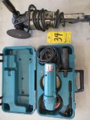 """Makita 4 1/2"""" Right Angle Grinder and Black & Decker 7"""" Right Angle Grinder"""