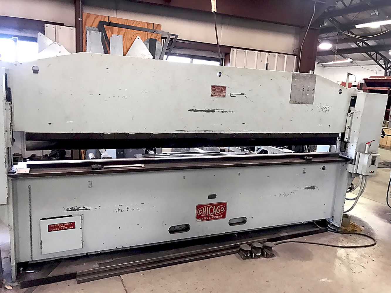 C.S. Bell Co. - Fabricating Facility with Large Qty. Tooling & Support Items