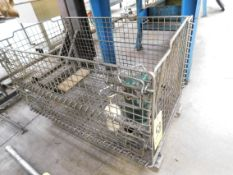 Sump Pump and Wire Basket