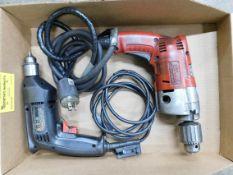 (2) Electric Drills