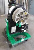 """Greenlee Smart Bender Model 855 Electric Conduit Bender, s/n ZC653LF, 1/2"""" Thru 2"""" Conduit, 110/1/60"""