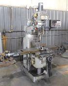"Millport Model 3VKH CNC Vertical Mill, s/n 2033, With Prototrak Plus 2-Axis CNC Control, 10"" X 50"""