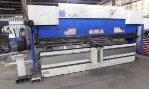 Trumpf Model Tru-Bend 3180 CNC Press Brake, s/n B0205B0010, New 2008, 198 Ton X 13.5' Capacity,