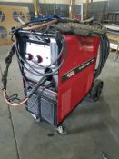 Lincoln Power Mig 350 Mig Welder, s/n U1071106490, Single Phase