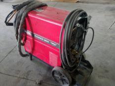 Lincoln Power Mig 300 Mig Welder, s/n U1041017694, Single Phase