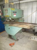 """Strippit Model 18/30 Single Station Punch, s/n 443102778, 30 Ton, 18"""" Throat, 1/4"""" Max. Thickness"""