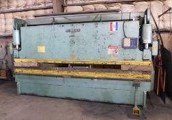 Betenbender 14' X 160 Ton Hydraulic Press Brake, s/n 63797, New 1996, Automec 99 CNC Back Gage, WILA